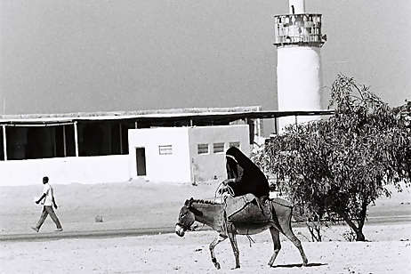 The Al Otaiba mosque in the mid-1960s. Until it's demolition in the late 1970s, this mosque Abu Dhabi's principal place of prayer. Al Ittihad / The National