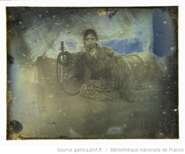 Ayoucha assise | Joseph Philibert Girault de Prangey: Biblioteque Nationale, Paris