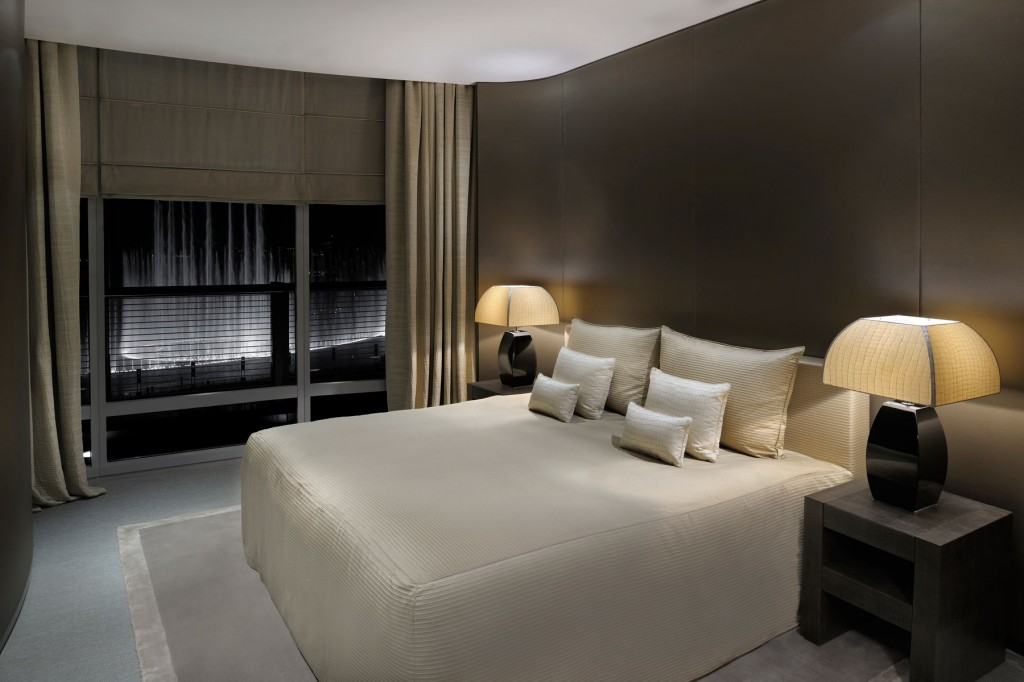 The height of fashion the armani hotel dubai writing to for Armani hotel dubai design