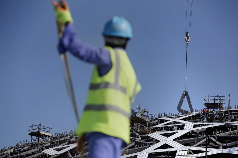 7,850 stars will join together to form the eight layers of cladding that will envelop Louvre Abu Dhabi's flying-saucer-shaped canopy, the 5,000-tonne steel structure that was lowered into its final resting place in December 2014. Silvia Razgova / The National