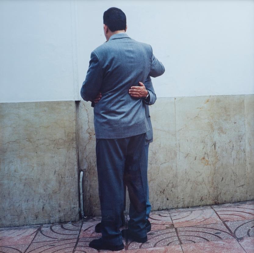 Yto Barrada, Rue de la Liberté, Tangier (2000) Pigmented inkjet print 125 x 125 cm Image courtesy of Sfeir-Semler Gallery / Barjeel Art Foundation, Sharjah